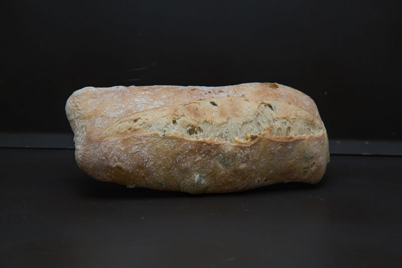Ciabatta aux 2 olives photo 1